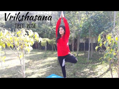 How to do Vrikshasana (Tree Pose)-  Develop your Mind & Body Balance - Easy Yoga For Beginners