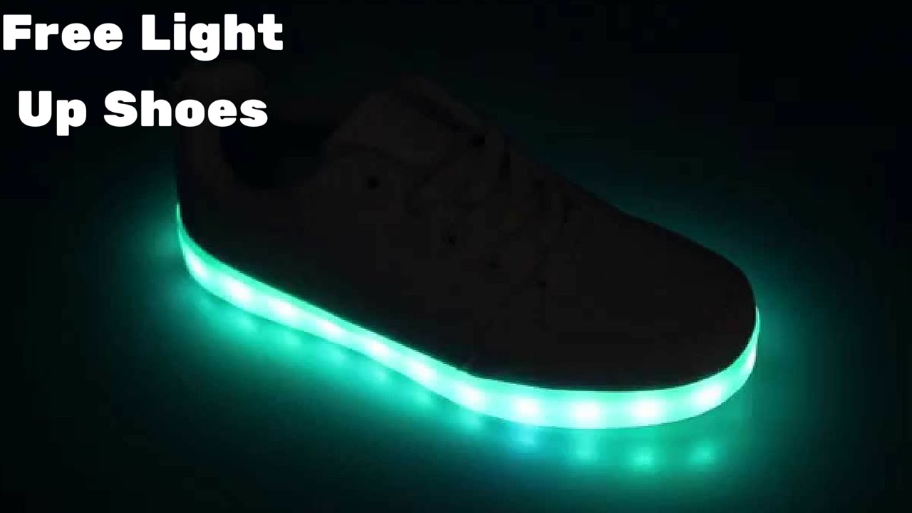 Awesome Neon Shoes for Boys - YouTube