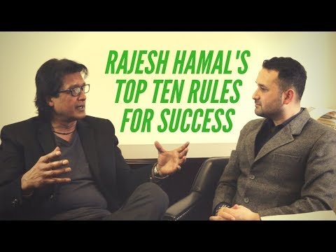 Rajesh Hamal's Top Ten Rules for Success