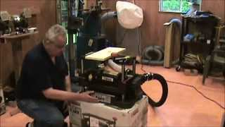 Central Machinery Thickness Planer Product Review 2