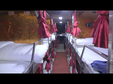 Swachh Bharat ! Latest Top Notch Multi Axle Volvo Bus With Toilet - Internal Coverage