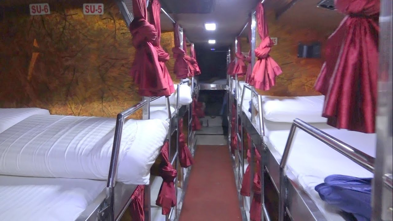 Swachh Bharat ! Latest Top Notch Multi Axle Volvo Bus With Toilet - Internal Coverage - YouTube
