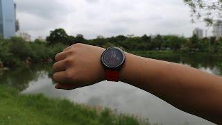 Amazfit - смарт часы от Xiaomi часть 1, обзор, работа приложения MiFit, пробежка в парке