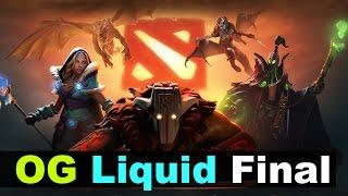OG vs Liquid - The Defense 5 Grand Final Dota 2