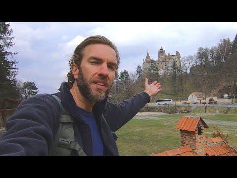 Visiting the Dracula Castle in Transylvania, Romania