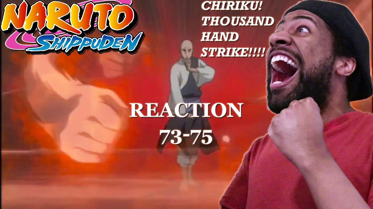 Naruto Shippuden | Reaction | 73-75 | Chiriku!!! - YouTube