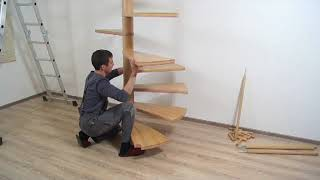 Монтаж винтовой лестницы ЮТА(, 2013-03-28T19:04:11.000Z)