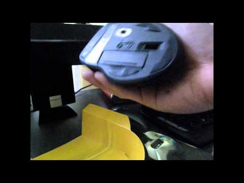 Short look at Gigabyte ECO600 Wireless mouse.