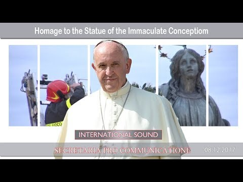 2017.12.08 - Homage to the Statue of the Immaculate Conception