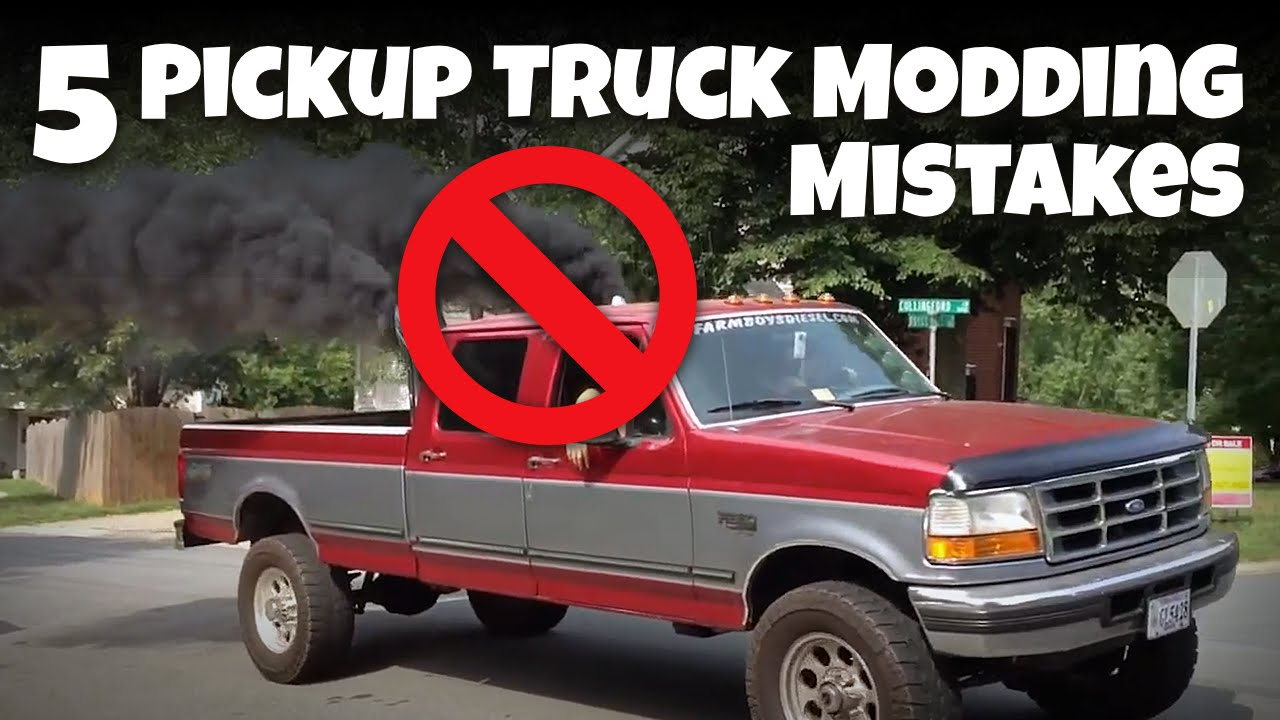 5 Modding Mistakes Owners Make On Their Daily-Driven Pickup Trucks