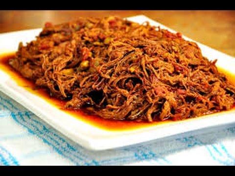 Receta Cubana: Ropa Vieja / Ricetta Cubana: Ropa Vieja.Cuban Braised Beef Recipe.