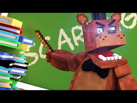 Monster School - FREDDY FAZBEAR'S SCARE CLASS! (Minecraft Roleplay) #5