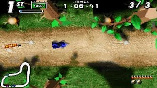 Karnaaj Rally (Gameboy Advance Gameplay)