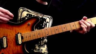 """How To Play The """"Runaround"""" Intro   Van Halen"""