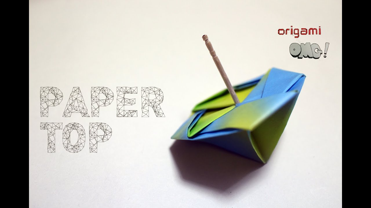 OMG! Easy but cool Origami is Easy - Paper TOP | วิธีทำของ ... - photo#10