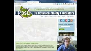 Joomla 2.5 DJ Slider Tutorial - USBSL Botanical Safety Website