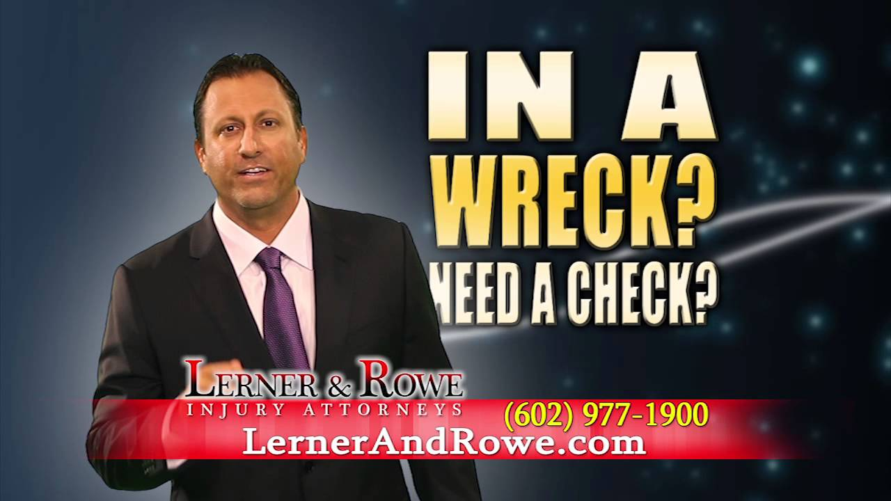 Kevin Rowe of Lerner and Rowe - In a Wreck? - YouTube