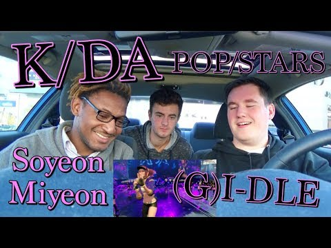 K/DA - POP/STARS (ft Madison Beer, (G)I-DLE, Jaira Burns) MV & LIVE Reaction [LEAGUE!!]