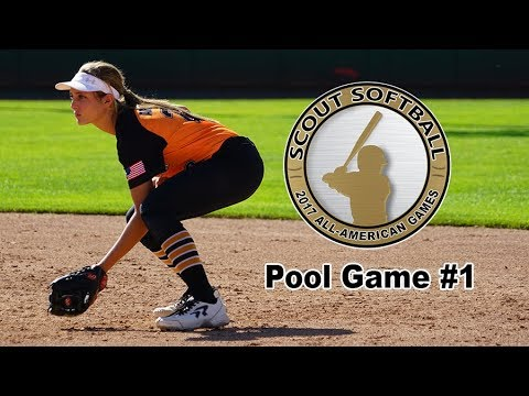 2017 Scout All-American Games - Pool Game #1 - Gray VS Orange