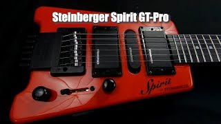 Steinberger Spirit GT-Pro Deluxe in Hot Rod Red