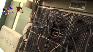 1954年製造のUNIVAC(真空管コンピュータ)ENIACの進化板6-2東京理科大学近代科学資料館