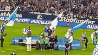 Schalke vs. hamburg - der abschied von huntelaar 13.05.2017