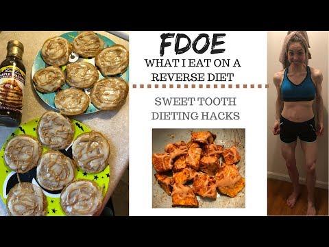 FDOE REVERSE DIET SWEET TOOTH HACKS
