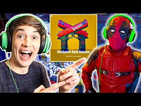 How To Get *NEW* Deadpool SECRET Weapon In Fortnite!