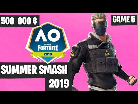 Fortnite Summer Smash Game 5 Highlights - Fortnite Australian Open [Fortnite Tournament 2019]