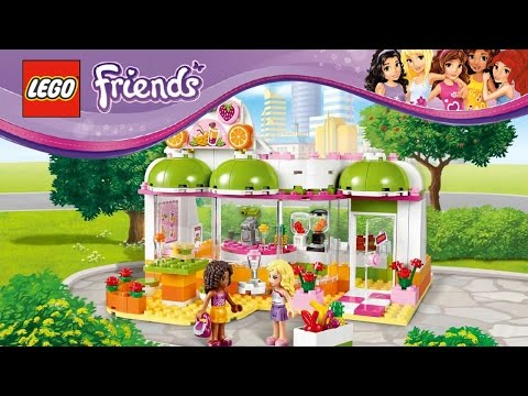 Lego Friends 41035 - Heartlake Juice Bar set 41035 Review (Part 1)