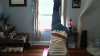 Twisted Funky Pincha Yoga Tutorial