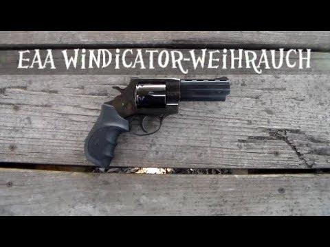 EAA HWM Windicator-Weihrauch .357 Magnum - YouTube