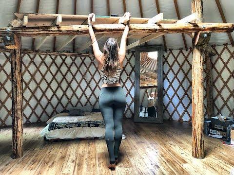 Living Off Grid in a Yurt | Building a Loft, pt. 3 - Ep. 43