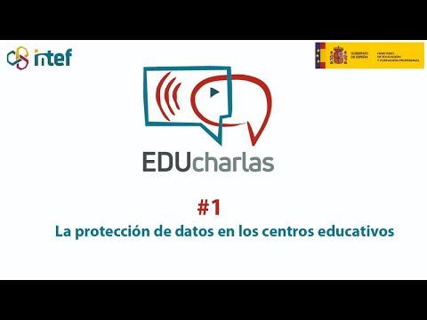 """EDUcharla: """"La protección de datos en los centros educativos"""""""
