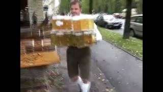 прикол с пивом