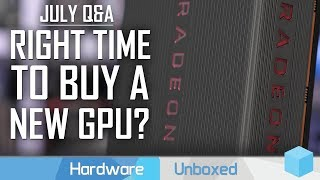 July Q&A [Part 1] Why is Ryzen Idle Voltage High? Is Overclocking Dead?