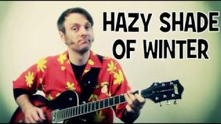 The Bangles Hazy Shade of Winter Guitar Tab Lesson with Chords