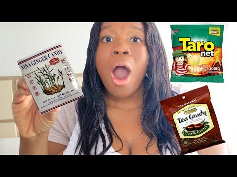 American TASTE TEST Indonesian SNACKS!  American Tries INDONESIAN Food