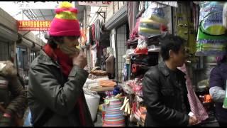 BASIC CHIINESE, HOW IS BUSINESS TODAY, Xinhua Market, Shanghai, 2013 (30 min=