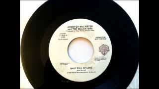 Shot Full Of Love , Jennifer McCarter & The McCarters , 1990 Vinyl 45RPM