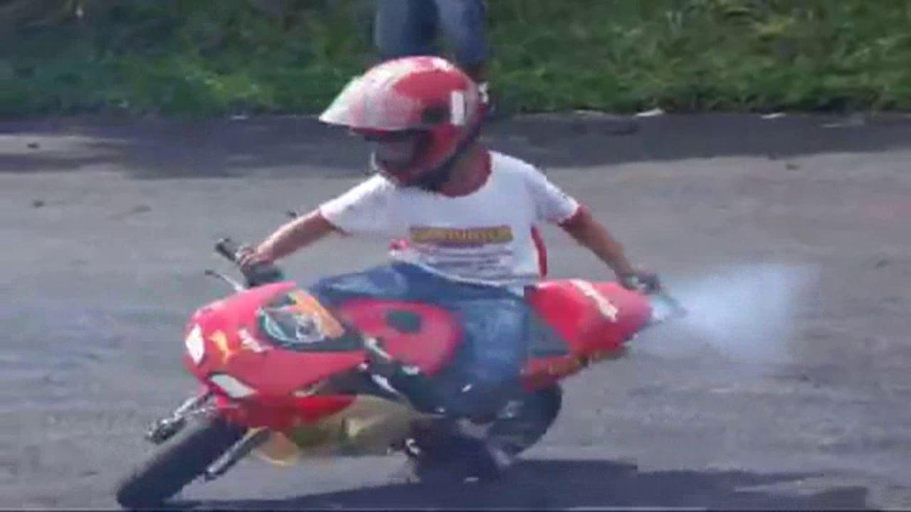 детский мотоцикл ирбис 50 мотопрогулка 1 - YouTube