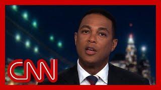 Don Lemon calls out Fox News for defending Trump's rhetoric