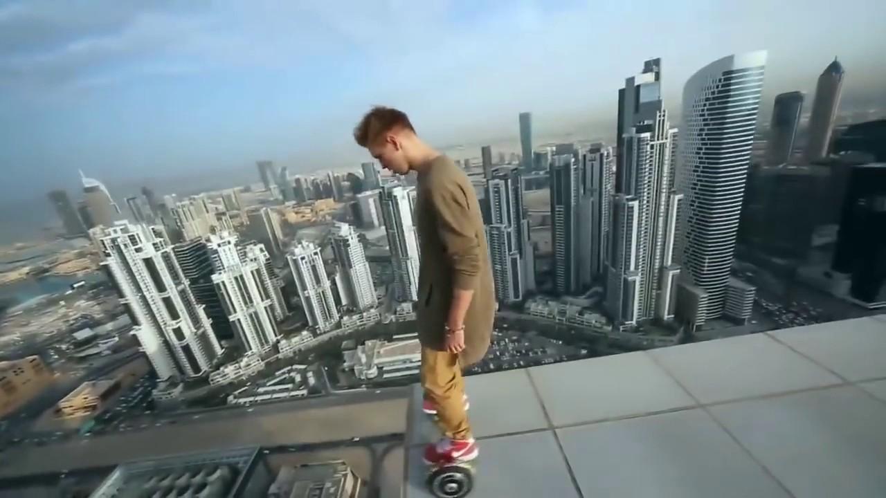 Parkour En Los Rascacielos Mas Altos Del Mundo Youtube