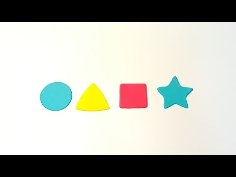 Let's Learn Shapes and Colours - Circle, Triangle, Square, Star ...
