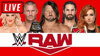 WWE RAW Live Stream November 11th 2019 Watch Along - Full Show Live Reactions