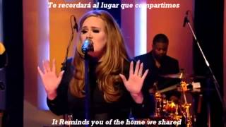 Adele -Rolling In The Deep subtitulada al español
