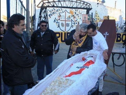 Descenso de River Plate en el barrio de Boca