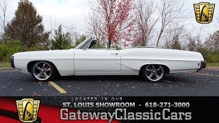 1968 Pontiac Catalina Convertible Stock #7525 Gateway Classic Cars St. Louis Showroom