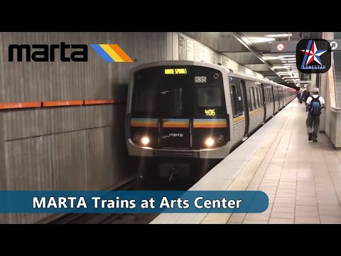 MARTA | Red and Gold Line Trains | Atlanta - Part 2