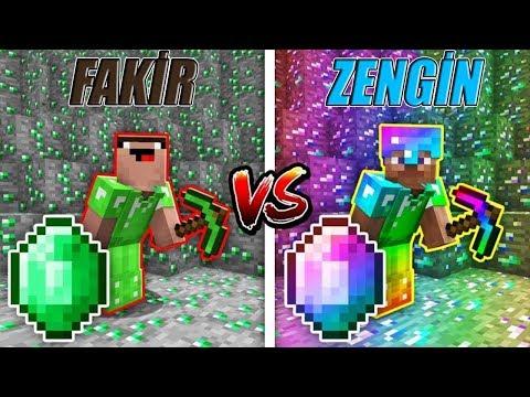 ZÜMRÜT KAPIŞMASI! (ZENGİN VS FAKİR!) 😱 - Minecraft